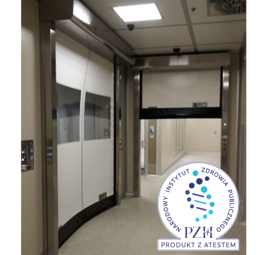 Brama szybkobieżna Dynamicroll CLEAN ROOM 230