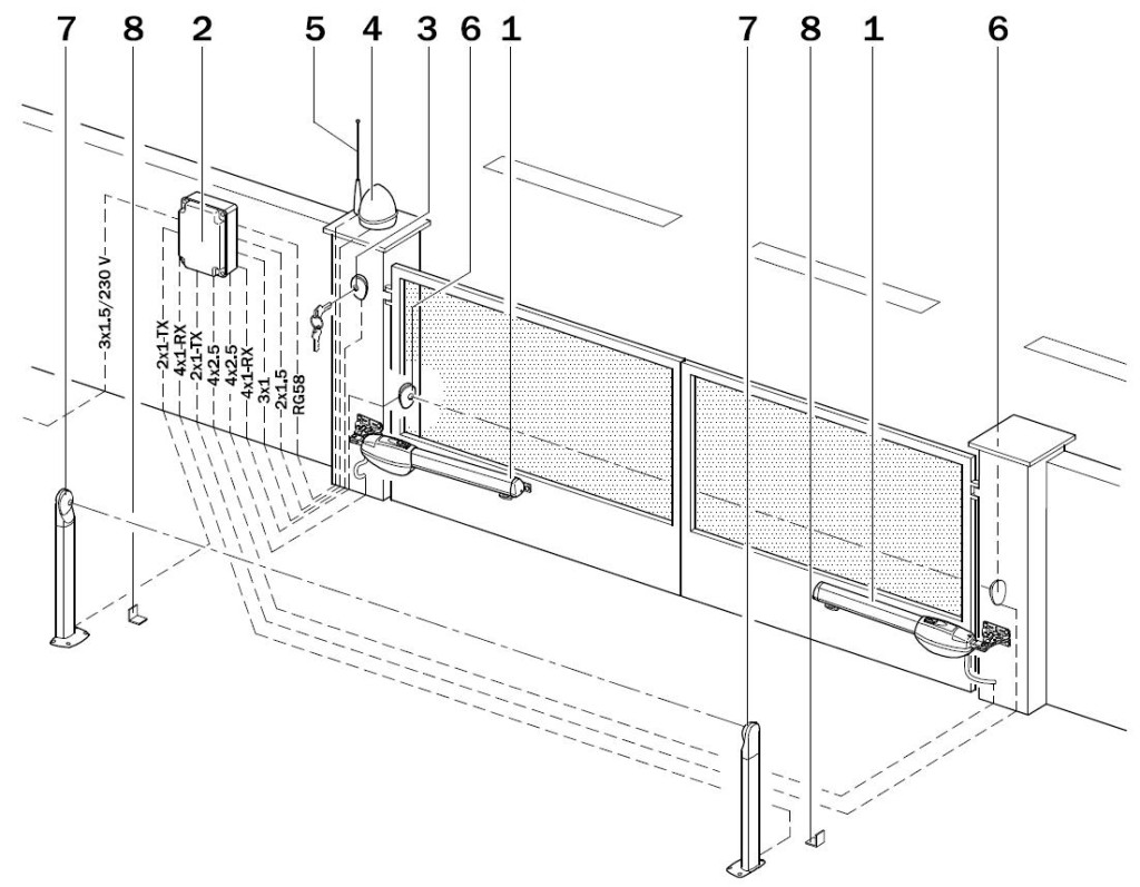 BE20.200 - przykład instalcji