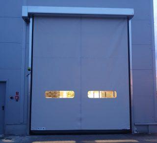 Realizacja inwestycji bram szybkobieżnych przez naszego partnera Gate Segment System