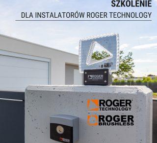 Szkolenie dla instalatorów automatyki do bram Roger Technology.